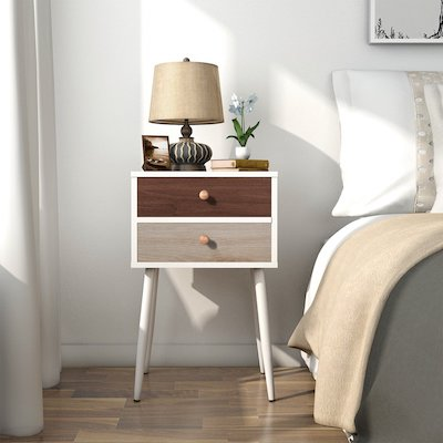 Lifewit Side End Table Nightstand & Top 10 Best Bedside Tables with Drawer in 2018 \u2013 Bright8