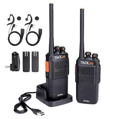 Walkie Talkies, Tacklife MTR01 Advanced Two-Way Radio