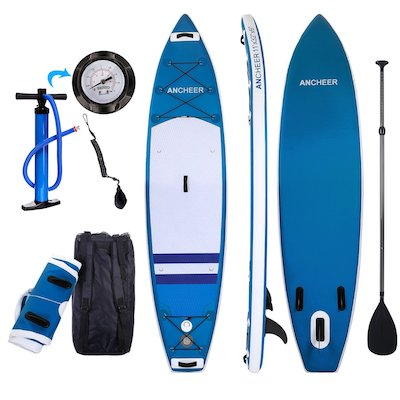 ANCHEER Inflatable SUP Stand Up Paddle Board