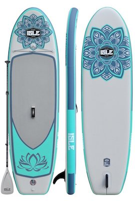 ISLE Airtech Yoga Stand Up Paddle Board iSUP Package