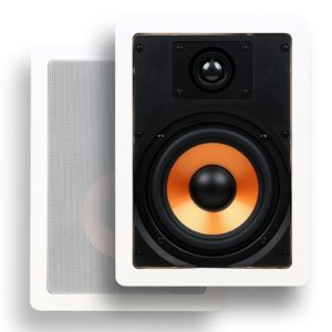 Micca M-6S In-wall Bookshelf Speakers