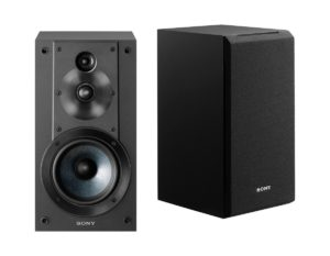 Sony SSCS5 3 Way Bookshelf Speakers