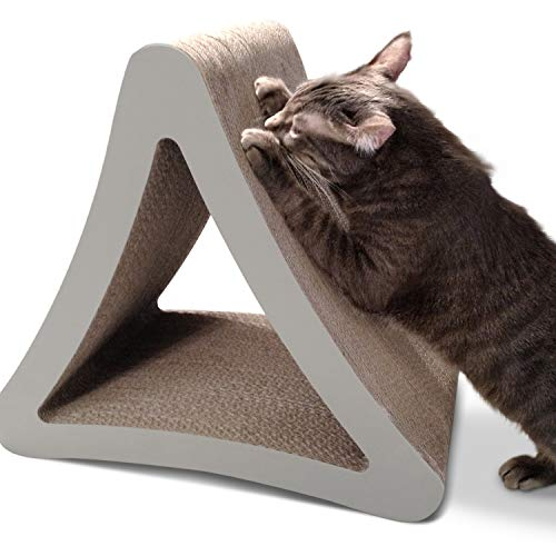 PetFusion 3-sided Vertical Scratching Post