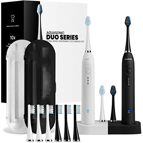 AquaSonic Duo Dual Handle Toothbrush