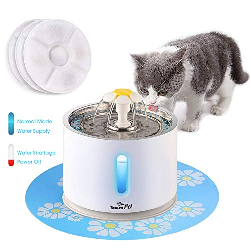 Beacon Pet Cat Water Fountain Stainless Steel