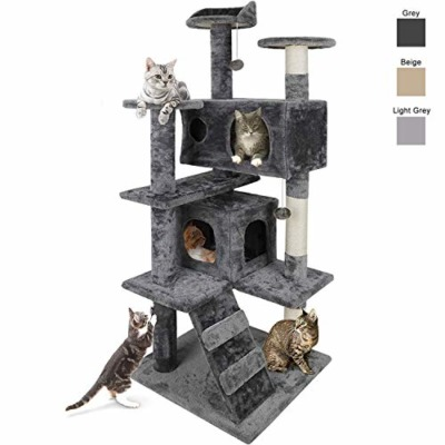 Nova Microdermabrasion 53 Inches Multi-Level Cat Tree Stand House