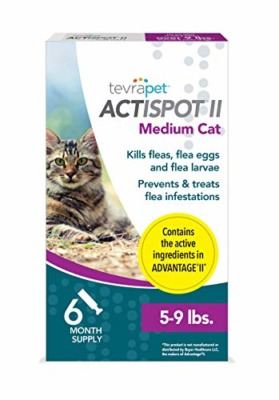 TevraPet Actispot II Flea Prevention & Treatment for Cats- Topical