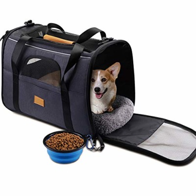 Dog Carrier Backpack, Pet Carrier Bag with Mesh for Small Dogs Cats