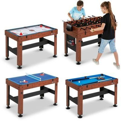 4-in-1 Combo Entertainment Multi Game Table