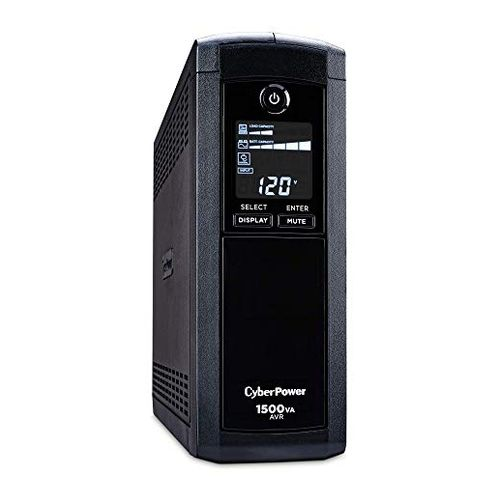 CyberPower Intelligent LCD CP1500AVRLCD UPS Battery Backup