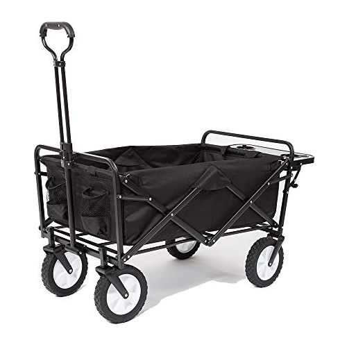 Mac Sports Collapsible Folding Outdoor Utility Wagon Carts