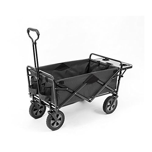Mac Sports Outdoor Wagon with Folding Table and Drink Holders
