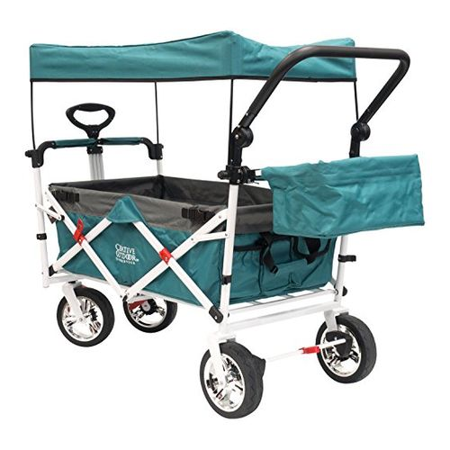 Creative Outdoor Push Pull Collapsible Folding Wagon Carts