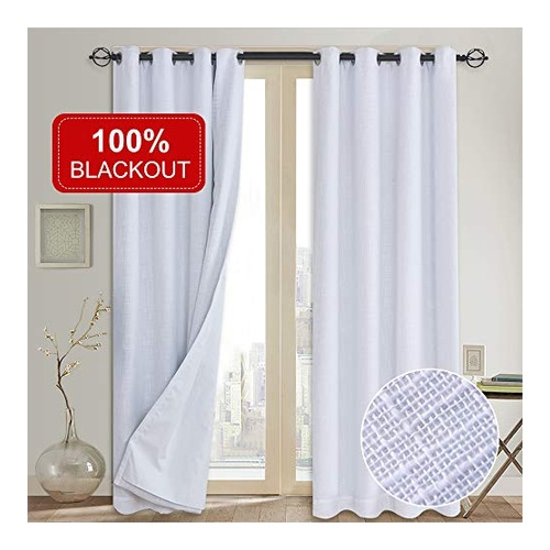 White Grommet Curtain by Rose Home Fashion