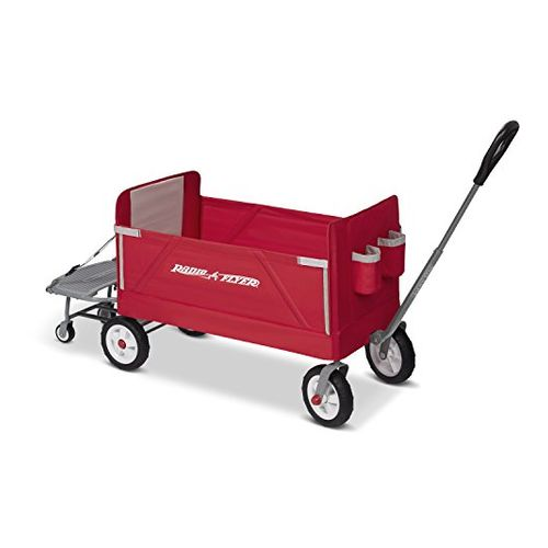 Radio Flyer 3-in-1 Folding Cart for Kids and Cargo