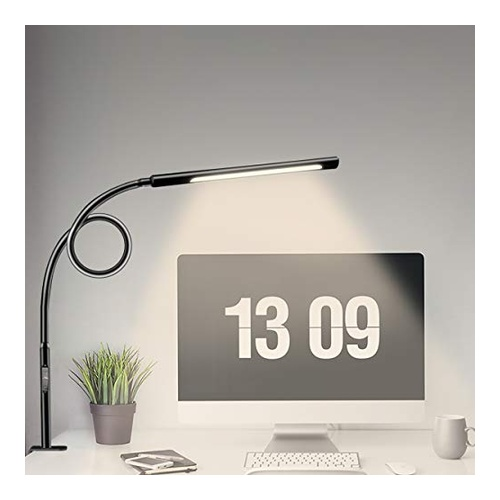 LED Desk Lamp With Clamp by Wellwerks