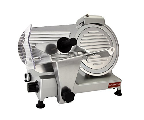 BESWOOD 250 Premium Meat Slicer for Commercial and Home Use