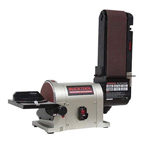 Bucktool disc and belt sander
