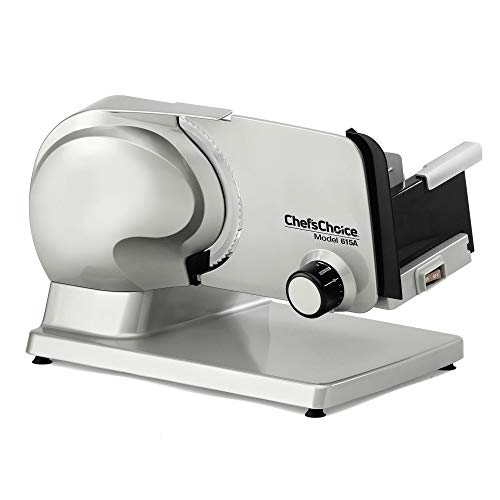 Chef'sChoice Electric Meat Slicer with Tilted Food Carriage