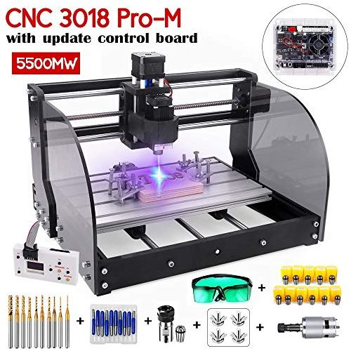 Updated 2-in-1 CNC Engraving Machines